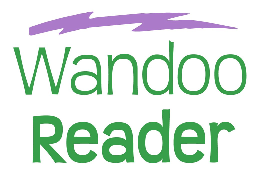 Wandoo Reader Logo Vertical