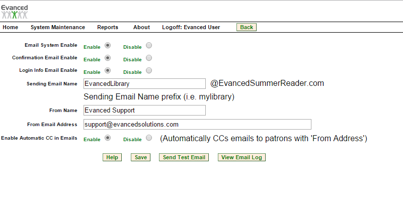Using Amazon SES Routing Services in Summer Reader - Print View